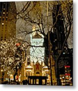 Carriage At The Water Tower Metal Print