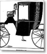 Carriage: Brougham Metal Print