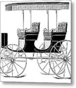 Carriage: Surrey Metal Print