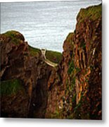 Carrick-a-rede Bridge II Metal Print