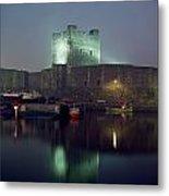Carrickfergus Castle & Harbour, Co Metal Print