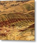 Carroll Rim Painted Hills Metal Print