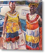 Cartegna Ladies Metal Print by Joyce Kanyuk