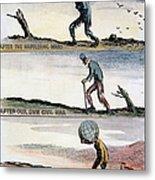 Cartoon: World Wars, 1932 Metal Print