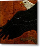 Carved Eagle Metal Print