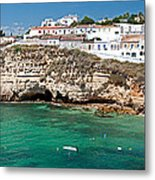 Carvoeiro Panorama Metal Print