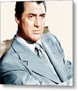 Cary Grant, Ca. Early 1940s Metal Print by Everett
