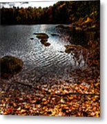 Cary Lake After The Storm Metal Print