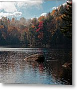 Cary Lake In The Adirondacks Metal Print