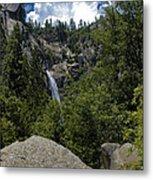 Cascade Falls Yosemite National Park Metal Print