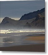 Cascade Head Metal Print