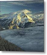 Cascade Mountain Banff Metal Print