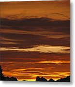 Cascade Mountains Sunrise 2 Metal Print