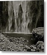 Cascade's End Metal Print