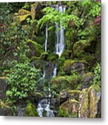 Cascading Waters Metal Print