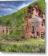 Cass Sawmill Metal Print