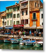 Cassis France Metal Print