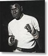 Cassius Clay Metal Print