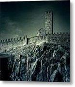 Castelgrande Bellinzona Metal Print by Joana Kruse