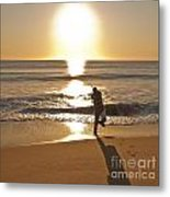 Casting To The Sun Metal Print