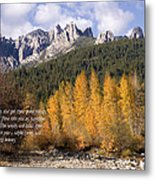 Castle Crags Autumn Metal Print