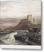 Castle: England, 19th C Metal Print