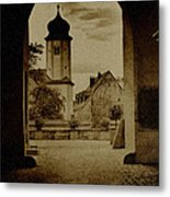 Castle Gate Metal Print