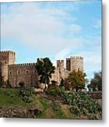 Castle In Sunlight Metal Print