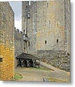 Castle Interior Ground France Metal Print