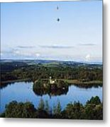 Castle Island, Lough Key Forest Park Metal Print