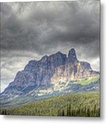Castle Mountain 2011 Metal Print