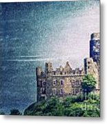 Castle Mouse Metal Print
