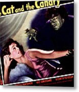 Cat And The Canary, The, Paulette Metal Print by Everett