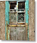 Cat In The Window Metal Print by David Patterson