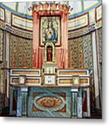 Cataldo Mission Altar - Idaho State Metal Print