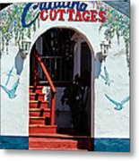 Catalina Cottages Metal Print