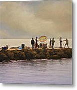 Catch Of The Day Metal Print by Robert Smith