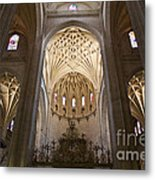 Catedral De Segovia Metal Print