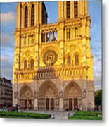 Cathedral Notre Dame Metal Print