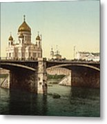 Cathedral Of Christ The Saviour - Moscow Russia Metal Print