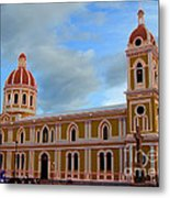 Cathedral On The Square Metal Print