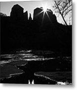 Cathedral Rock Sunrise Sedona Arizona Metal Print