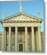 Cathedral. Vilnius. Lithuania Metal Print