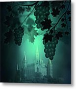 Catle And Grapes Metal Print