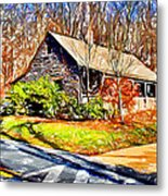 Catoctin Visitor Center Metal Print