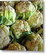 Cauliflower Metal Print