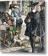 Cavaliers & Puritans Metal Print