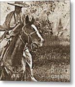 Cavalry Rides Again Metal Print
