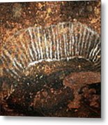 Cave Painting Of A Witchittey Grub Metal Print