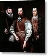 Cavendish Drake And Hawkins Metal Print